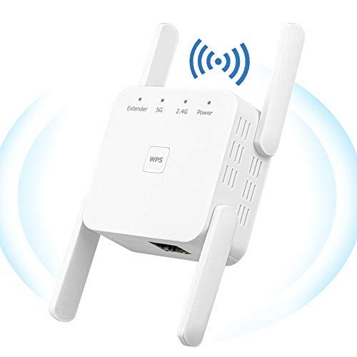 🥇 YUIN Amplificador Señal WiFi – 1200Mbps Repetidor WiFi