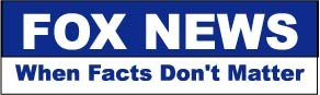 Bumper Sticker for Cars, Trucks - Fox News - When Facts Don't Matter - Professional Vinyl Decal | Made in USA - 3