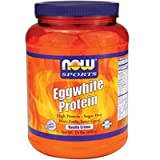 Now Foods Eggwhite Protein Vanilla Creme – 1.5 lbs. 2 Pack Review