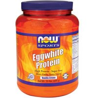 Now Foods Eggwhite Protein Vanilla Creme - 1.5 lbs. 2 Pack