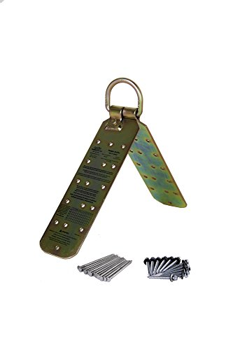 - Guardian Fall Protection 00455 Temper Reusable Anchor for flat 12/12 Pitch with Fasteners