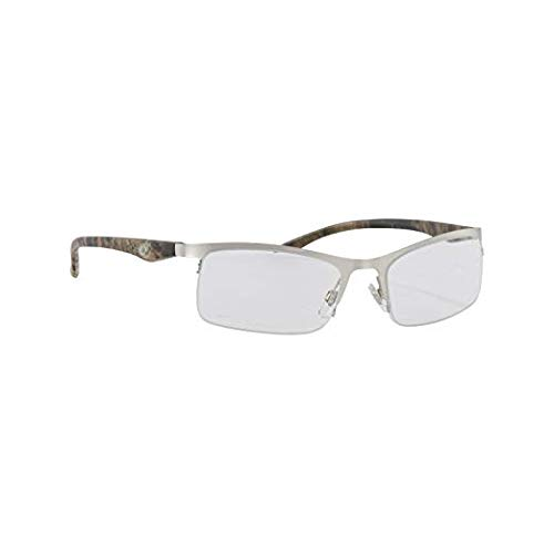 Mossy Oak Redheart Break-Up Infinity Camo Reading Glasses - Nickel (1.75X)