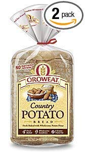 Oroweat Sliced Bread 24oz Loaf (Pack of 2) Choose Flavor Below (Country - Potato)