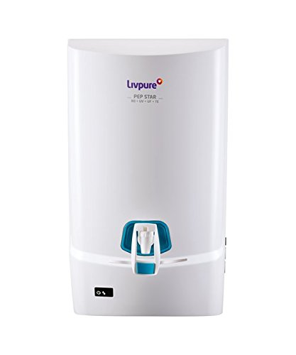 d63577422f5 Livpure Pep Star Ro+Uv+Uf+Te Water Purifier (White)  Amazon.in  Home    Kitchen