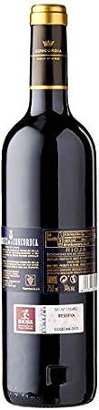 Caja de Marqués de la Concordia Reserva D.O Rioja Vino tinto - 6 botellas x 750 ml. - 4500 ml