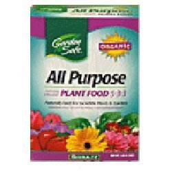 Amazoncom Garden Safe All Purpose Organic Fertilizer 5 3 3 3
