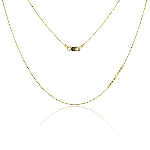 1mm Diamond Cut Bead Chain - 4