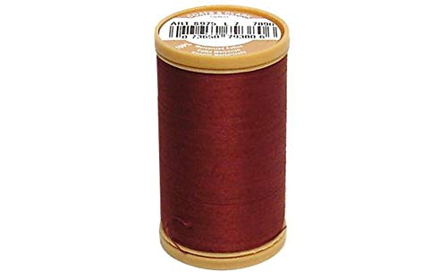 Thread /& Zippers Machine Quilting Cotton Thread 350-Yard Coats Red