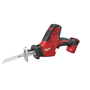 Bare-Tool Milwaukee 2625-20 M18 18-Volt Hackzall Cordless One-Handed Reciprocating Saw (Tool Only, No Battery)