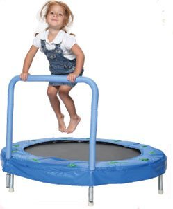 Bazoongi 48'' Bouncer Trampoline with Handle Bar