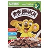 Koko Krunch Whole Grain Breakfast Cereals Wheat Crackers Chocolate 25g.(pack of 10)