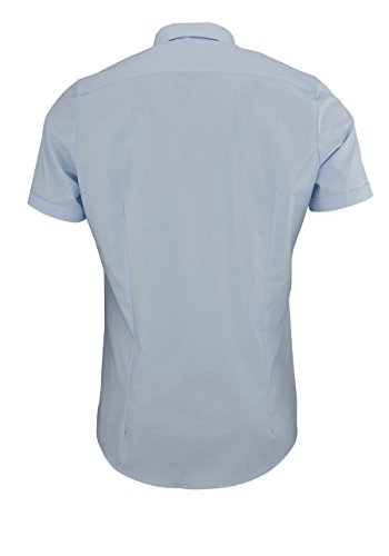 OLYMP Level Five Body Fit Chemisette pour homme -  bleu - taille col: 39