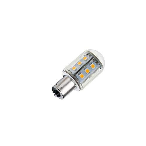 (DengTA 1156 1141 BA15s Bayonet LED Bulbs Warm White 12V Low Voltage for Landscape Lighting and Camper RV Boat Lights (1 Pack 2-Watt, Warm White))