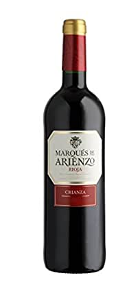 Arienzo de Marques de Riscal - Vino, 750 ml, pack de 6 unidades