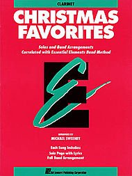 - Hal Leonard Essential Elements Christmas Favorites B Flat Clarinet