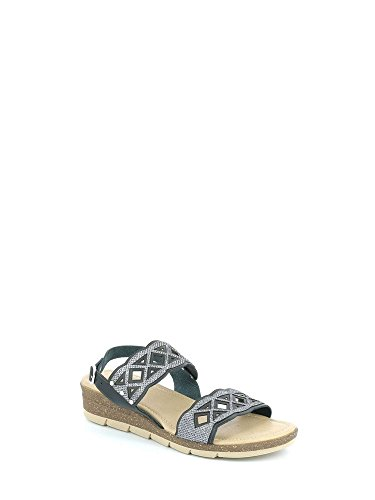 Donna Grunland Deco Nero P Sandalo Sa1718 qPPHUwf4x