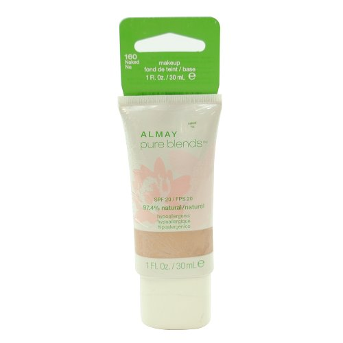 Almay Pure Blends Makeup, Naked, 1-Fluid Ounce ()