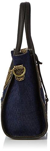 Vita H anna b X 13x24x40 Blau Canberra T 11 Cabas Femme bleu Laura Cm BCqd17q