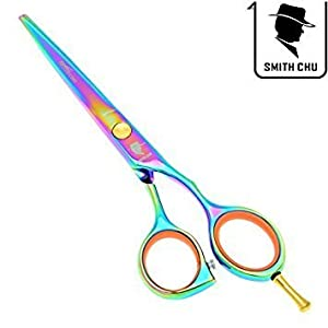 Smith Chu 5.5 inch Professional JP440C Barber Hair Cutting and Shears Thinning Scissors Salon Hairdressing Razor from SMITH CHU