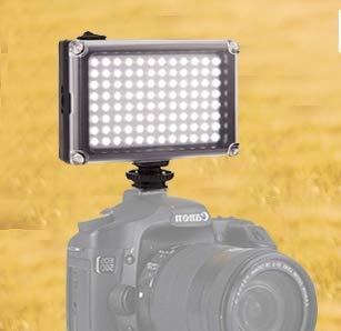 BESTFYOU - Luz LED para cámara réflex (Intensidad Regulable ...