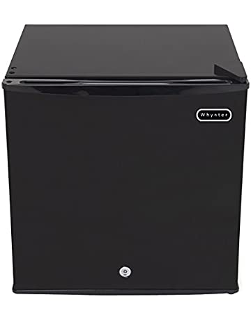 whynter cuf-110b energy star 1 1 cubic feet upright freezer with lock, black