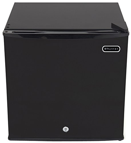 Whynter CUF-110B Energy Star 1.1 Cubic Feet Upright Freezer with Lock, Black -