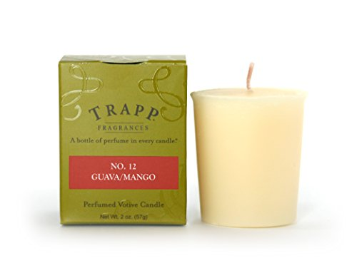 Trapp Signature Home Collection No. 12 Guava/Mango Votive Scented Candle, Pack of (Mouth Chesapeake Bay)
