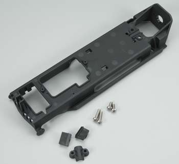 Traxxas 5724R Radio Tray / Retainer, Stuffing Tube Clamp and Hardware ()