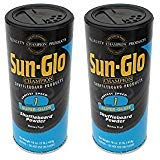 Sun-Glo #1 Shuffleboard Powder Wax (16 oz.) (Pack of 2) by Sun-Glo