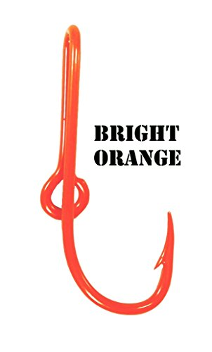 Hook Orange (BT Outdoors Eagle Claw Fish Hook Hat Pin,21 Colores to Choose from. Eagle Claw Hat Fish Hook for Cap (Bright Orange))