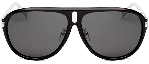 """PRIVÉ REVAUX ICON Collection """"The McQueen"""" [Limited Edition] Handcrafted Designer Polarized Aviator Sunglasses For Men & Women - Mcqueen Glasses"""