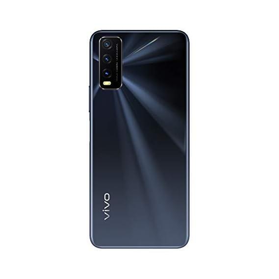Vivo Y20 (Obsidian Black, 6GB RAM, 64GB Storage) with Boat Wired Earphones