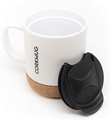 CorkMug Ceramic Built Splash free Personalize product image