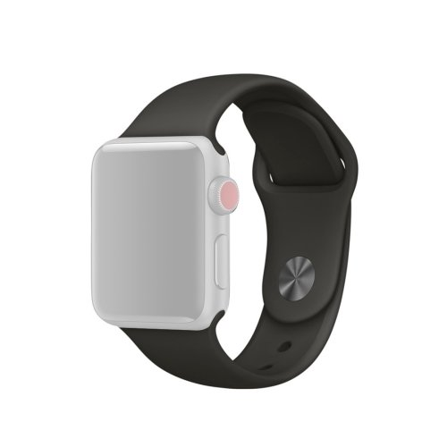 alsatek Pulsera de Silicona para Apple Watch Series 3/2/1 42 mm Gris