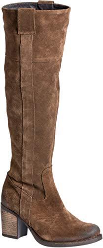 (Bos. & Co. Women's Horton Knee High Boot Tan Oil Suede 36 M EU (5.5-6 US))