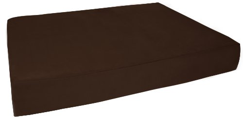 Big Barker 7'' Pillow Top Orthopedic Dog Bed - Large Size - 48 X 30 X 7 - Chocolate - For Large and Extra Large Breed Dogs (Sleek Edition) by Big Barker (Image #9)