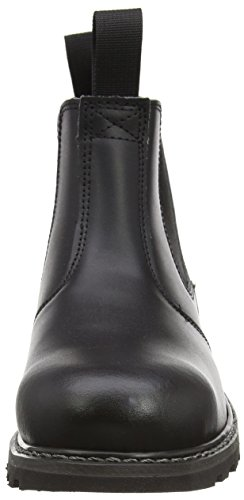 Womens Mens Unisex Boot Dealer Boots Pull Steel Black On Amblers FS5 CwHqf0