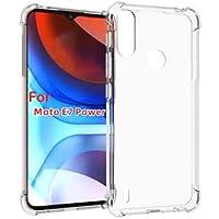 Capa Antichoque Transparente Anti Impacto Compatível Motorola Moto E7 Power Bordas Reforçadas