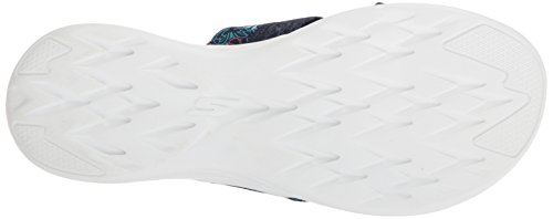 Skechers Performance Damen 600-Monarch Slide Sandale für unterwegs Marine