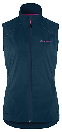 VAUDE Weste Women's Hurricane Vest II - Cortavientos para mujer Azul