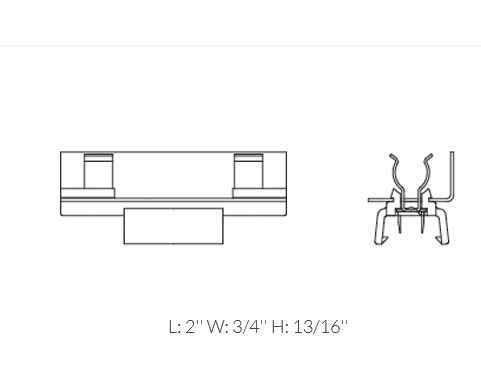 12-Pack 94323-12 Black Adjustable Festoon Lamp Holder by Ambiance Lighting