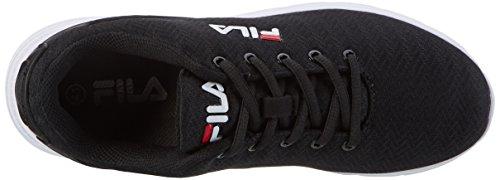 Fila Men Base Fury Run 2 Low - Zapatillas de casa Hombre Schwarz (Black)