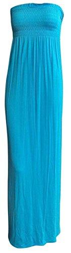 Unknown -  Vestito  - Maxi - Donna blu Medium