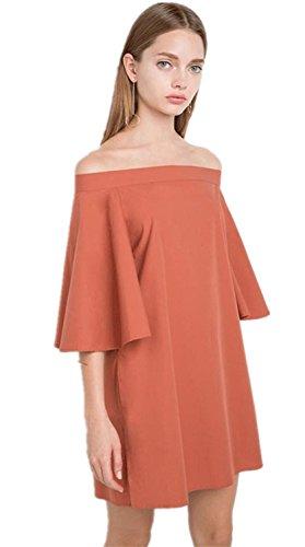 Buy bell sleeved boho mini dress - 4