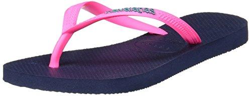Pink Navy Blu 5557 Infradito Blue Logo Donna Slim Havaianas Xgq0Pw