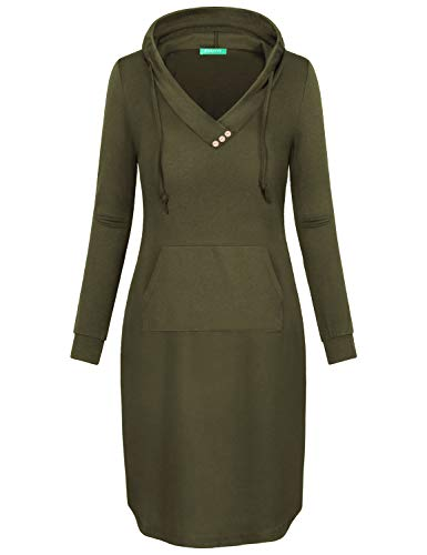 Army Fancy Dress - Kimmery Jumper Dresses for Women, Knee