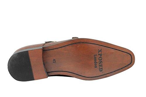 Hombre Cordones marrón Xposed Cordones Xposed marrón sin Hombre Xposed sin wv4Tq