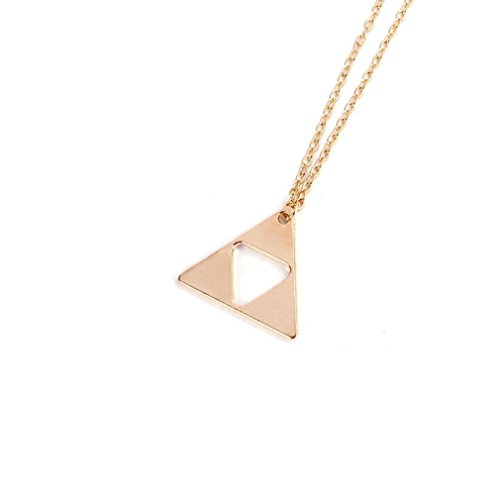 DDLBiz Triangle Triforce Costume Necklace