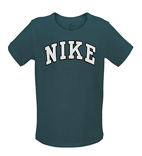 NIKE Mens One Mesmeric Arch T-Shirt - Sport Teal (Large)