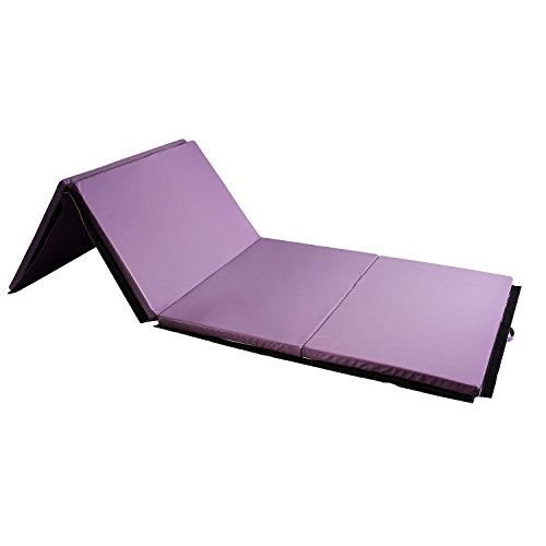 HYD-PARTS Gymnastic Mats, Children Tumbling Mats,Child Christmas Birthday Gift (Pure Purple)